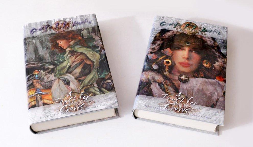 Пир стервятников, издательство Subterranean Press, художник Том Кэнти