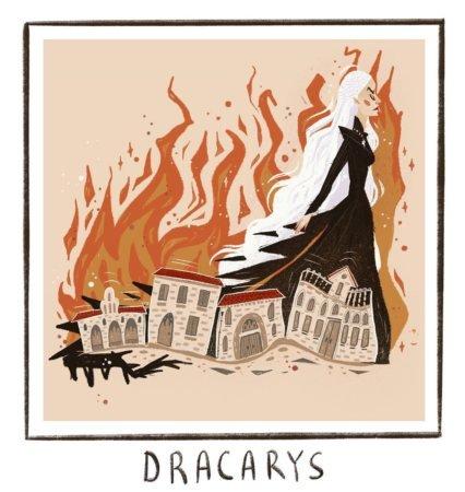 Дейнерис сжигает город