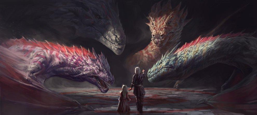 Драконы Таргариенов