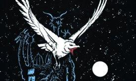 Белый ворон у Драконьего Камня (обложка «Битвы королей»)
