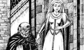 Санса и изуродованный Тирион
