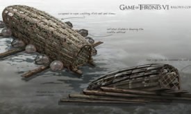 Лодка с трупом Бейлона Грейджоя