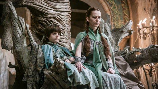 Первый комплект одеяния Лизы и Робина