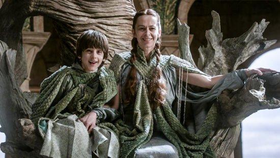 Второй комплект одеяния Лизы и Робина