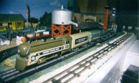 Игрушечная железная дорога из 50-х