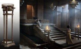 Сцена с Варисом и Миссандеей (светильник)
