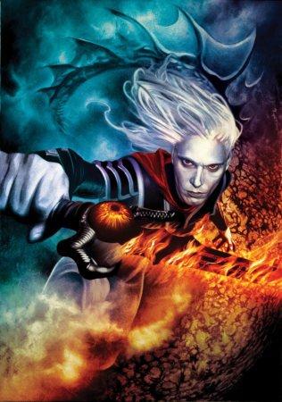 Обложка для серии книг Муркока об Элрике