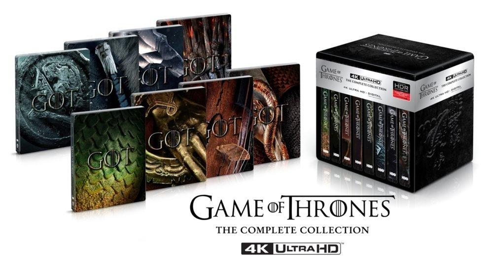 Полное Ultra HD Blu-ray-переиздание восьми сезонов «Игры престолов»