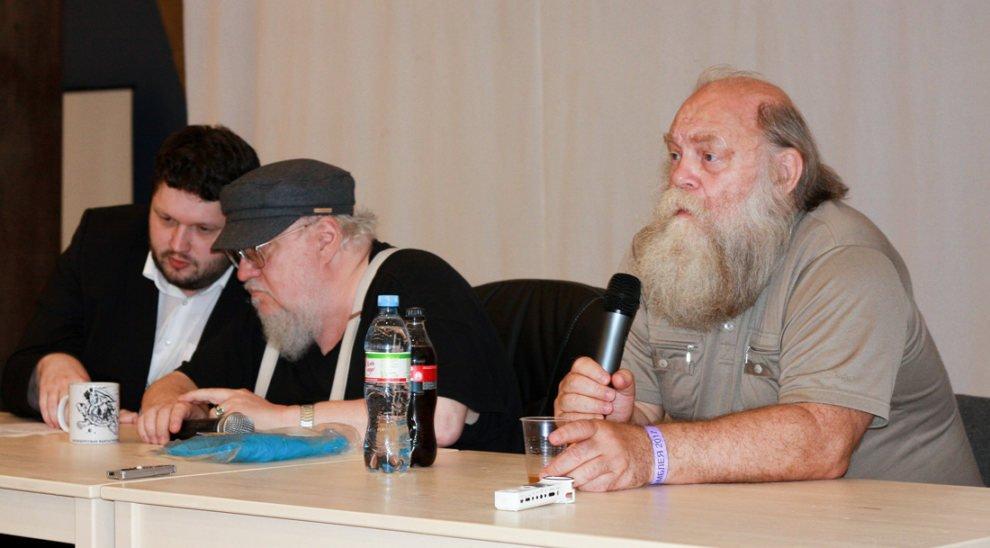 Беседа Джорджа Мартина и Святослава Логинова на ФантАссамблее
