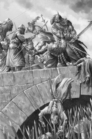 Сандок Тень на мосту в крепость Мейгора